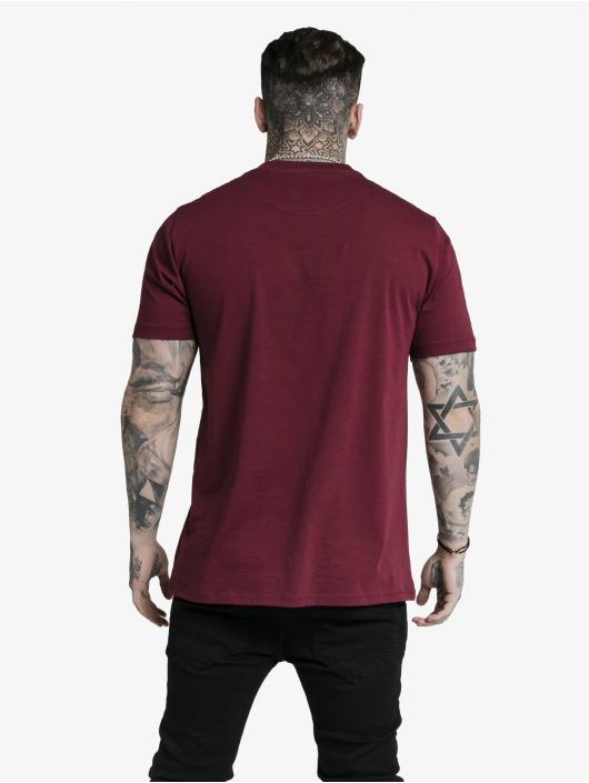 Sik Silk T-Shirt Basic Core rot