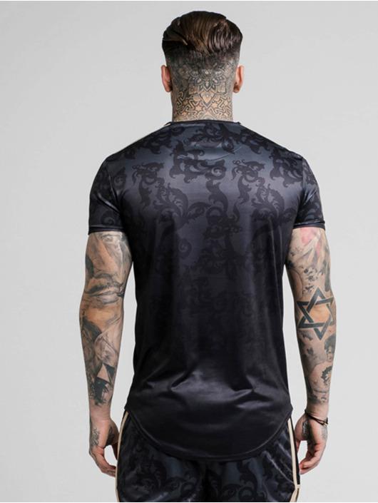 Sik Silk T-Shirt Tape Trials Gym schwarz