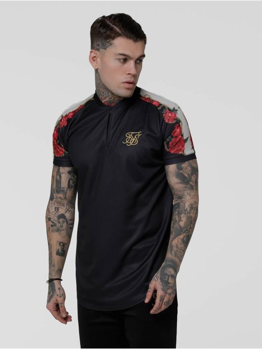 Sik Silk T-Shirt Majestic Baseball schwarz
