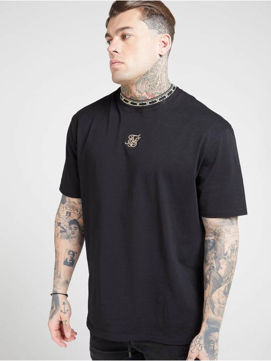 Sik Silk T-Shirt Collar Essential schwarz