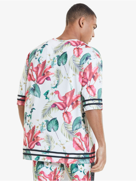 Sik Silk T-shirt Retro Tropics Essential variopinto