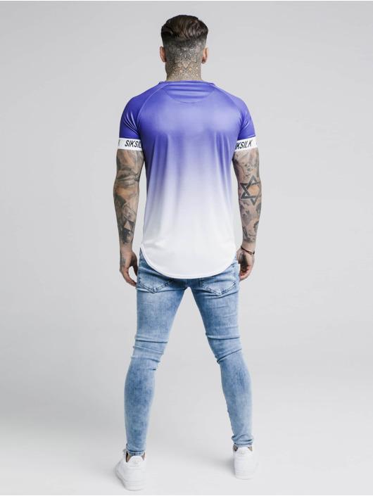 Sik Silk T-Shirt Raglan Fade Tech violet