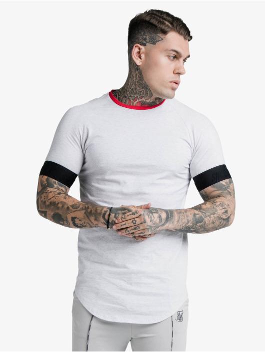 Sik Silk T-Shirt S/S Deluxe Ringer Tech weiß