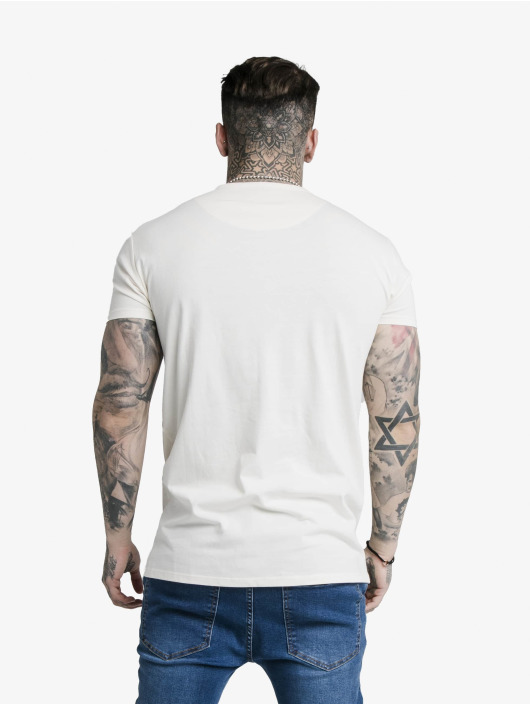 Sik Silk T-Shirt Fade Rhine Stone Box weiß