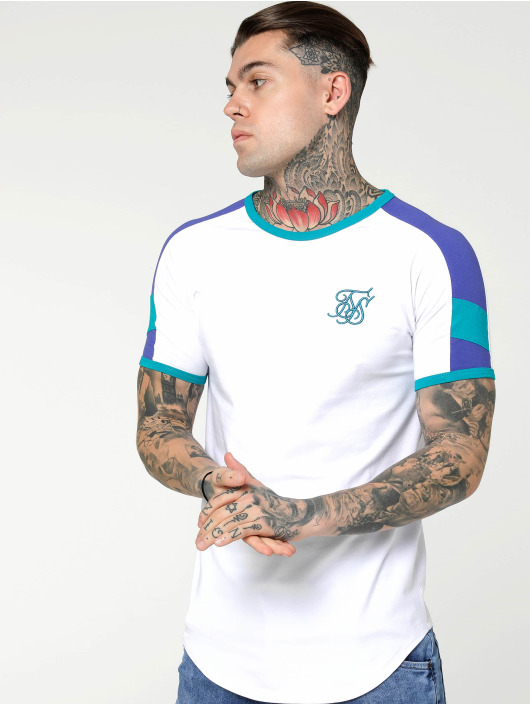 Sik Silk T-Shirt Shelly Gym white