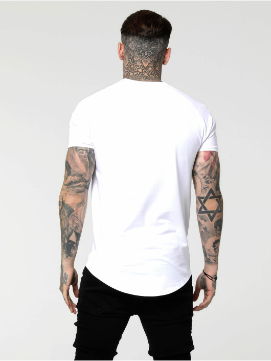 Sik Silk T-Shirt Tape Gym white