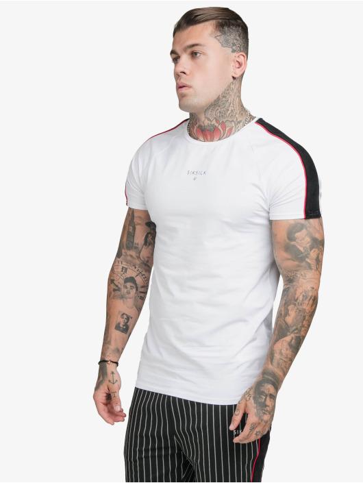 Sik Silk T-Shirt Imperial Raglan Gym white