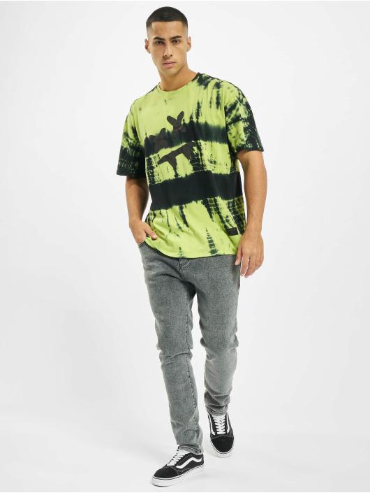 Sik Silk T-Shirt Steve Aoki S/S Essential yellow