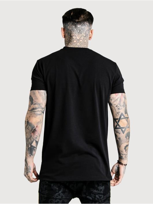 Sik Silk t-shirt Relaxed Fit Box zwart