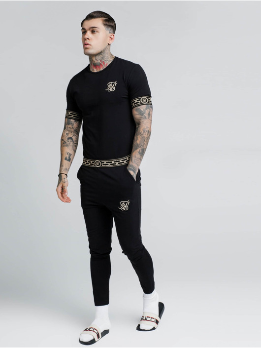 Sik Silk t-shirt Cartel Lounge zwart