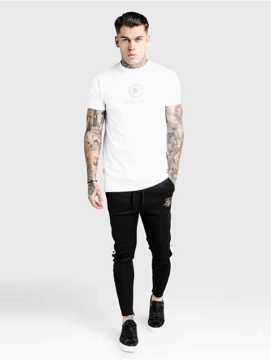 Sik Silk T-shirts Relaxed Fit Box hvid
