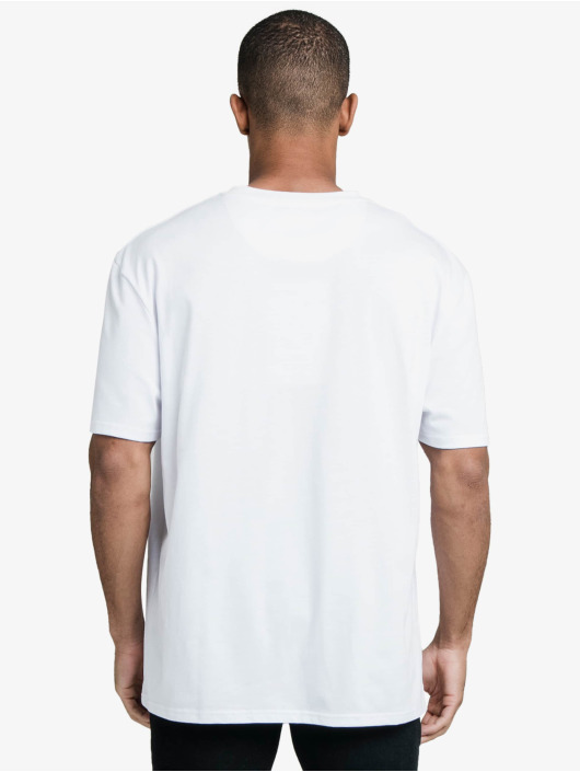 Sik Silk T-shirts Drop Shoulder Relaxed Fit hvid