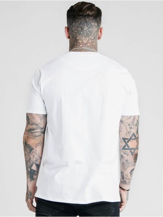 Sik Silk T-Shirty Basic Core bialy