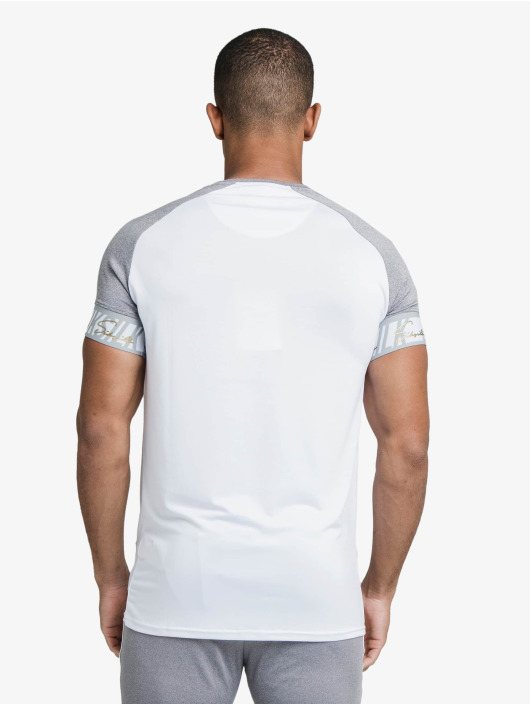 Sik Silk T-Shirty Scope Tape Tech bialy