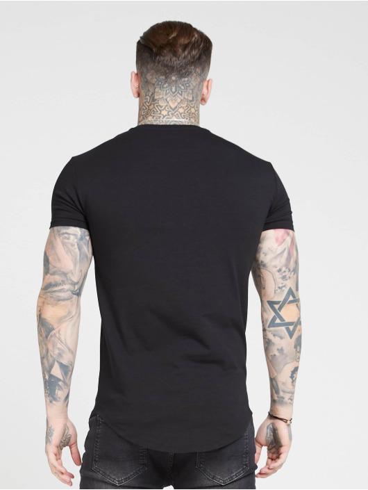 Sik Silk T-Shirty Core Gym czarny