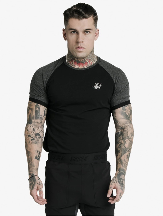 Sik Silk T-Shirty Advanced Tech czarny