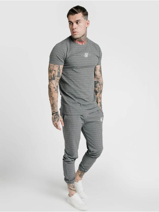 Sik Silk T-Shirty Siksilk Smart Gym czarny