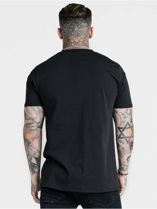 Sik Silk T-Shirty Basic Core czarny