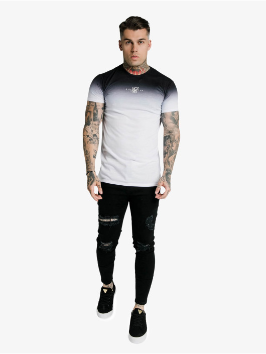 Sik Silk T-Shirty High Fade Box czarny