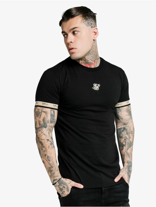 Sik Silk T-Shirty Premium Tape Gym czarny