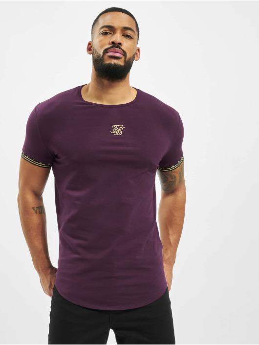 Sik Silk T-Shirty Cartel Scope Gym czerwony