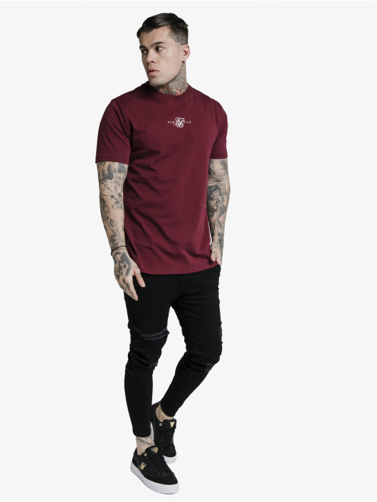 Sik Silk T-Shirty Basic Core czerwony
