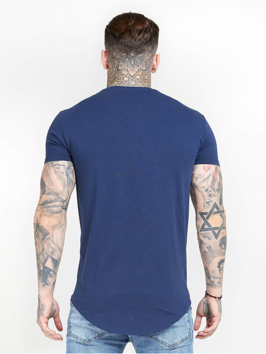 Sik Silk T-Shirty Core Gym niebieski