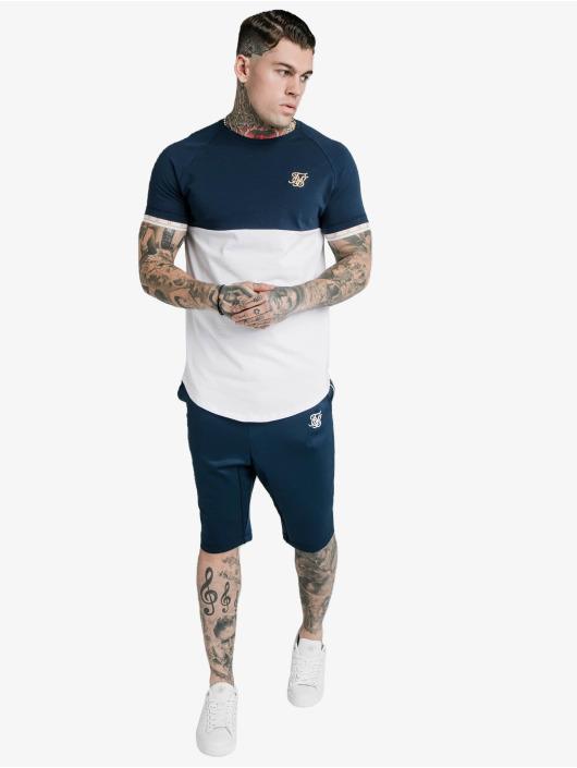 Sik Silk T-Shirty Cut & Sew Tech niebieski