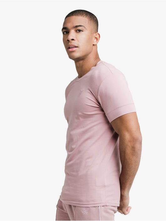 Sik Silk T-Shirty Smart Essentials rózowy