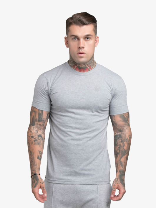 Sik Silk T-Shirty Smart Essentials szary