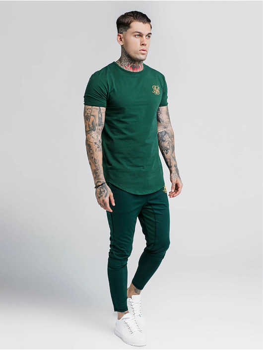 Sik Silk T-Shirty Gym zielony