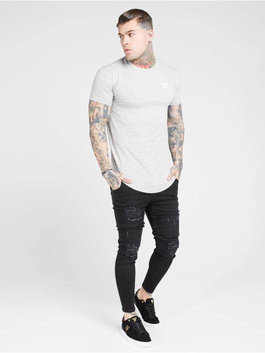 Sik Silk T-skjorter Core Gym grå