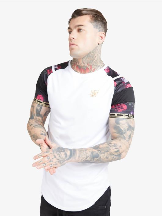 Sik Silk T-skjorter Raglan Sprint Tape hvit