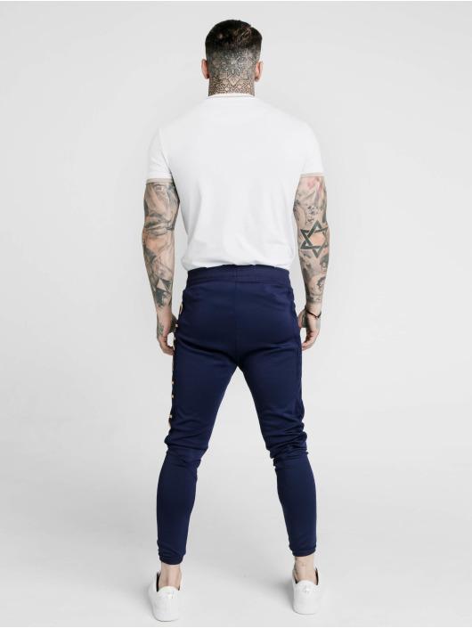 Sik Silk T-skjorter S/S Yarn Rib hvit