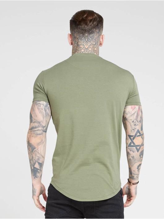 Sik Silk T-skjorter Core Gym khaki