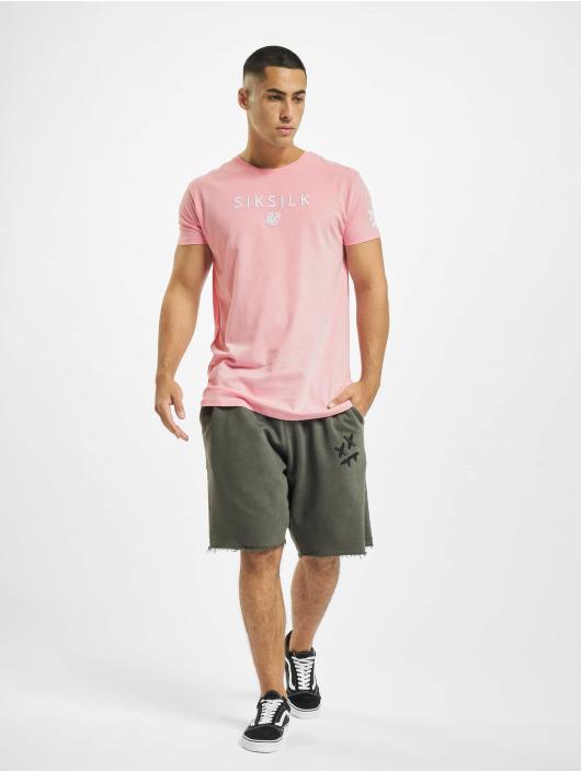 Sik Silk T-skjorter X Steve Aoki Relaxed lyserosa