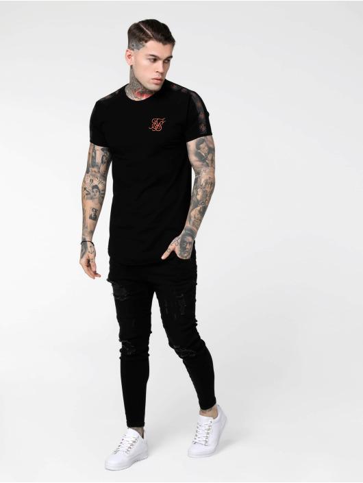 Sik Silk T-skjorter Tape Gym svart