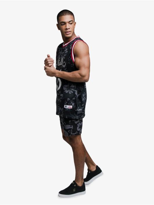Sik Silk Tank Tops Status Hawaii Basketball czarny