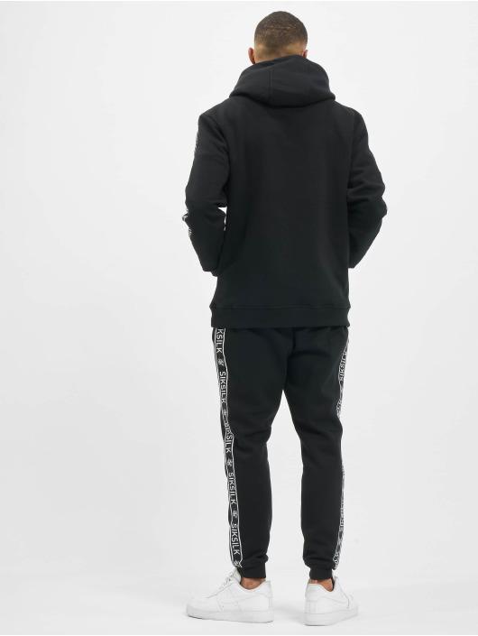 Sik Silk Trainingspak Fleece Overhead zwart