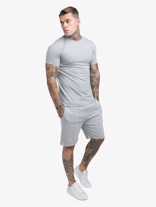 Sik Silk Tričká Smart Essentials šedá