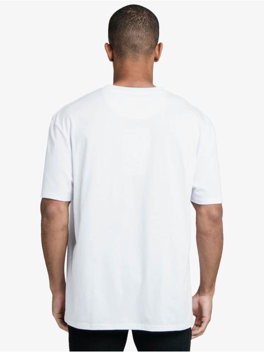 Sik Silk Tričká Drop Shoulder Relaxed Fit biela