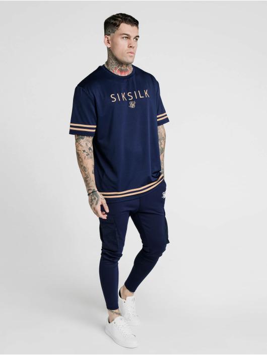 Sik Silk Tričká S/S Essential modrá