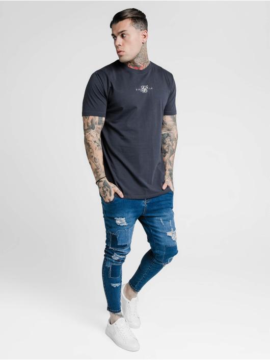 Sik Silk Tričká Basic Core modrá