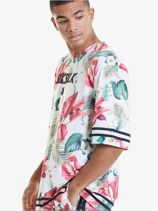 Sik Silk Tričká Retro Tropics Essential pestrá