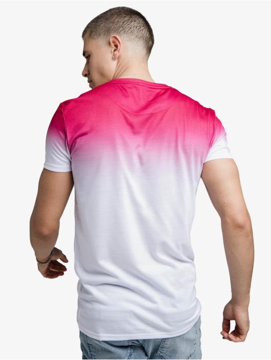 Sik Silk Trika High Fade Embroidery Gym růžový