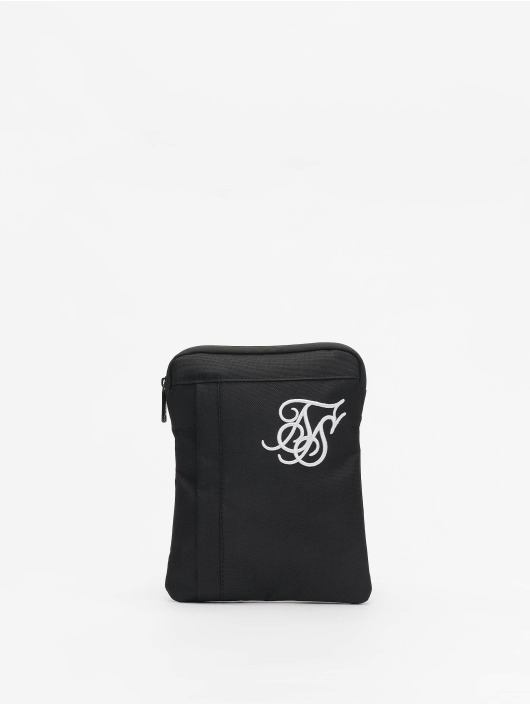 Sik Silk Cross Body Flight Bag Black