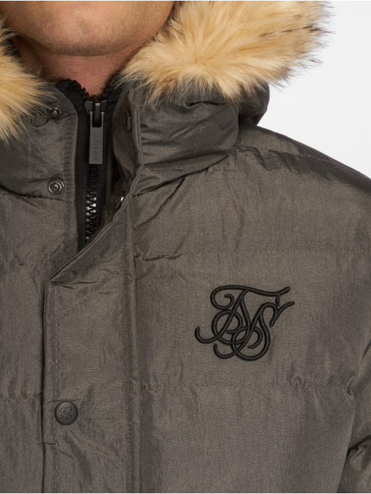 Sik Silk Winter Jacket Parachute grey