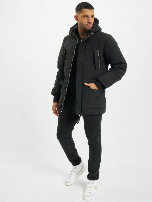 Sixth June Зимняя куртка Long Down With Chest Zip черный