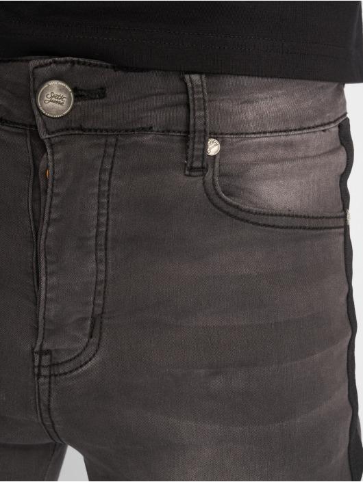 Sixth June Облегающие джинсы Tape серый