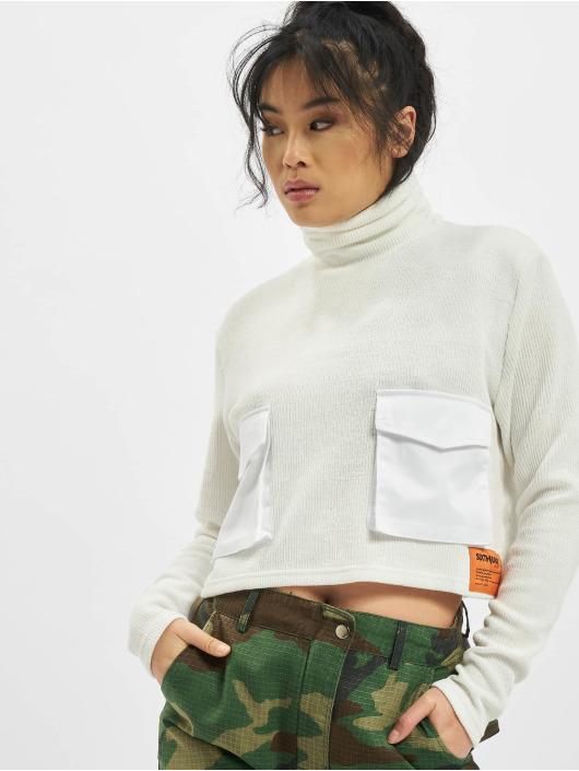 Sixth June Пуловер Utility Knitwear белый